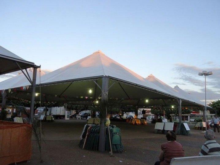 Cobertura Tenda Piramidal